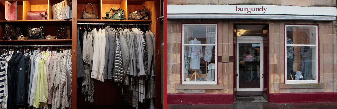Burgundy Fashions in Biggar, Scotland