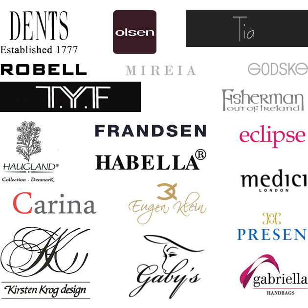 Brands stocked by Burgundy Ladies Fashion Boutiques